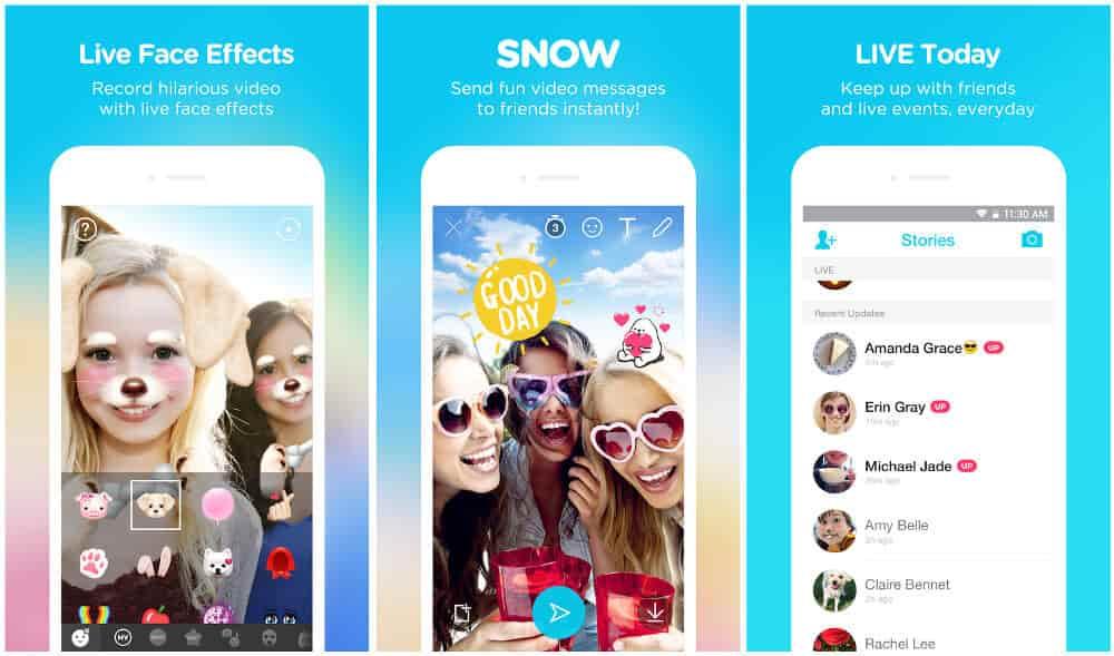как сделать снежинки на фото в инстаграм